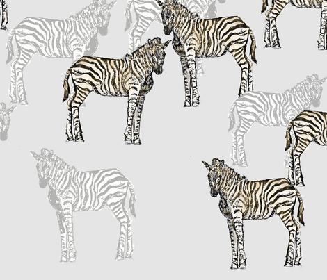zebra_final2 fabric by fine_cut on Spoonflower - custom fabric