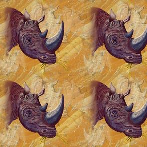 Chipbembere... Rhino.. SMALL.. Swatch Size