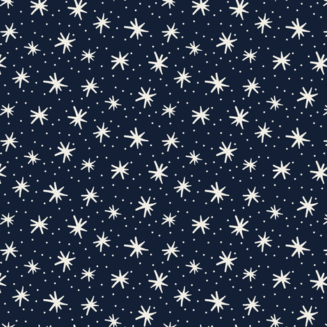 Petites Etoiles fabric by demigoutte on Spoonflower - custom fabric