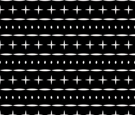 sahara_stripe_mud_cloth fabric by holli_zollinger on Spoonflower - custom fabric