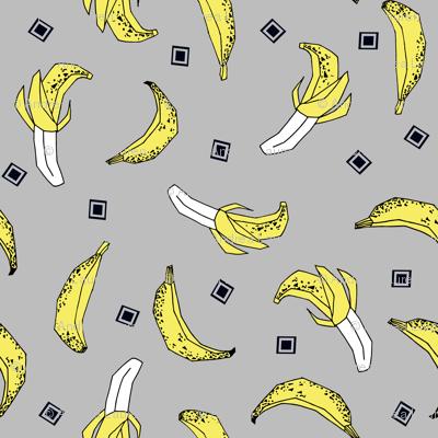 Bananas - Slate/Canary/Black by Andrea Lauren