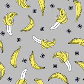 Bananas - Slate/Canary/Black by Andrea Lauren