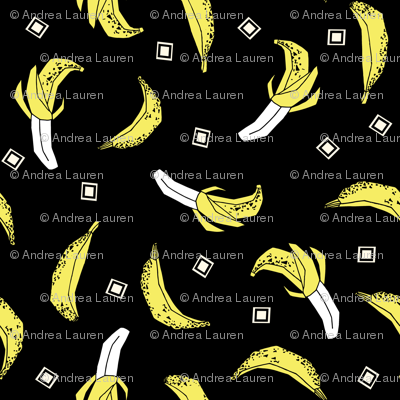 Bananas - Black/Canary/White by Andrea Lauren