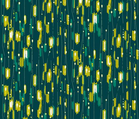 Light Speed Baby Grass fabric by maja_studio on Spoonflower - custom fabric