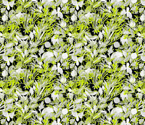 Lime Folag fabric by maja_studio on Spoonflower - custom fabric