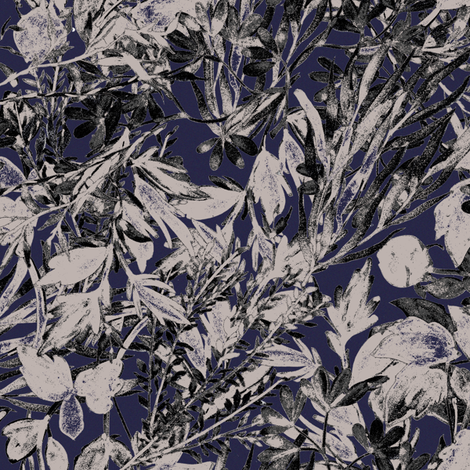 Navy Folag fabric by maja_studio on Spoonflower - custom fabric