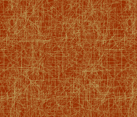 sisal muted orange fabric by maja_studio on Spoonflower - custom fabric