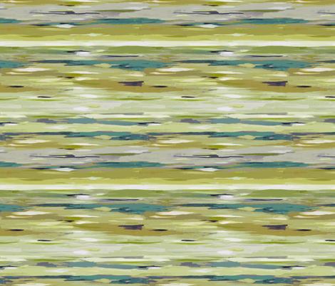 Painted Stripes Horizontal fabric by maja_studio on Spoonflower - custom fabric
