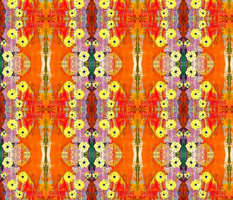 Orangesun fabric by bouzic on Spoonflower - custom fabric