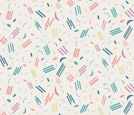 Mouvement cosmique fabric by demigoutte on Spoonflower - custom fabric