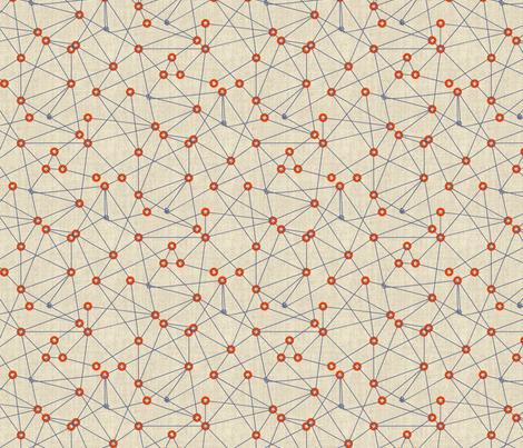 Space Theory fabric by meliszawang on Spoonflower - custom fabric