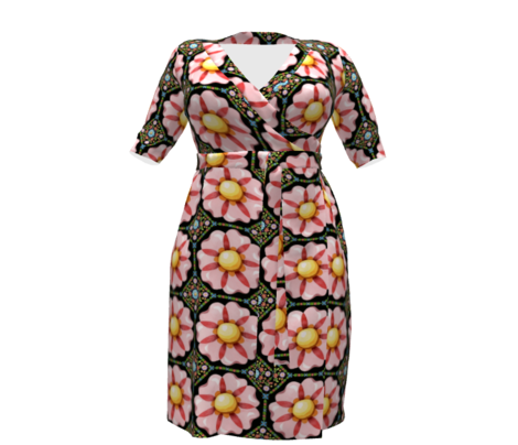 Rpatricia-shea-designs-millefiori-pink-flower-repeat-black_comment_711003_preview