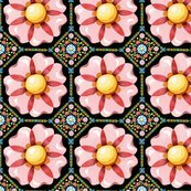 Rpatricia-shea-designs-millefiori-pink-flower-repeat-black_shop_thumb