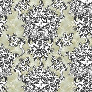 Greenman fabric
