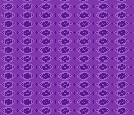 PilgrimRowsPurple fabric by tammikins on Spoonflower - custom fabric