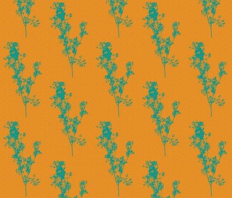 Rteal_cilantro_on_speckled_orange_shop_preview
