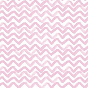 Zig Zag waves Pink