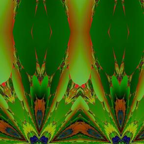 Green and Orange Fractal