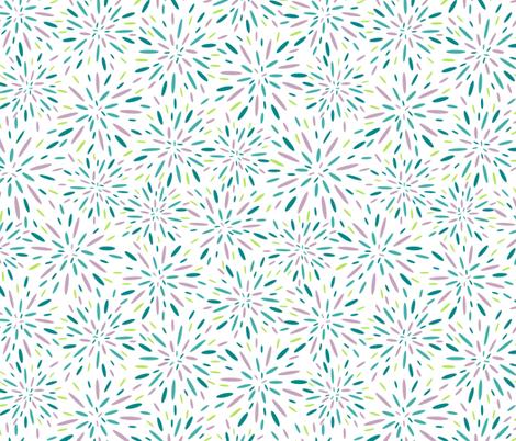 Starburst, Lavender + Blue fabric by kateriley on Spoonflower - custom fabric