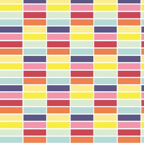 Stacked - spring palette