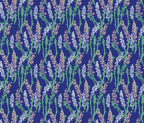 Lavender fabric by lucysletter on Spoonflower - custom fabric