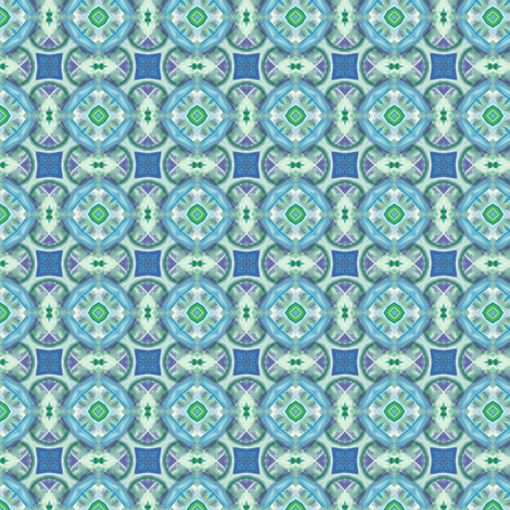 Watercolor Under The Sea - 035 fabric by honeyinthewild on Spoonflower - custom fabric