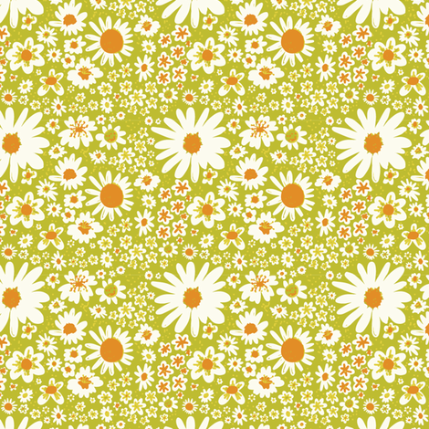 Tower of Flowers fabric by bashfulbirdie on Spoonflower - custom fabric