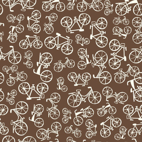 bikes in a chocolate land