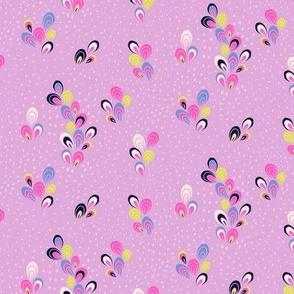 le jardin cosmique - coordinating drops lilac