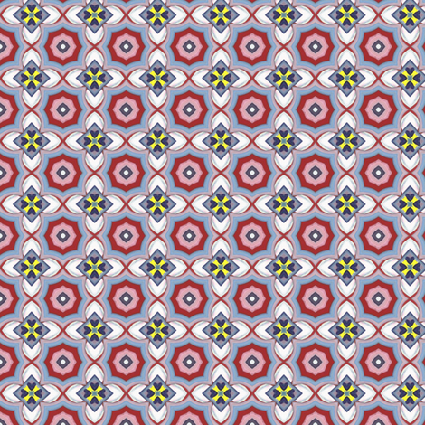 Watercolor Traffic Jam - 019 fabric by honeyinthewild on Spoonflower - custom fabric