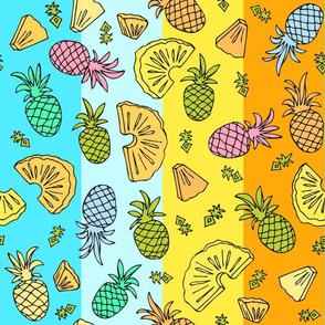 Pineapple Mix - Tropical Rainbow #2