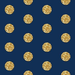 Glitter Dots Beaucoup! on Classic Navy