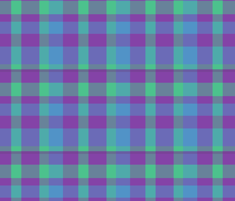 plaid fabric by mophead on Spoonflower - custom fabric
