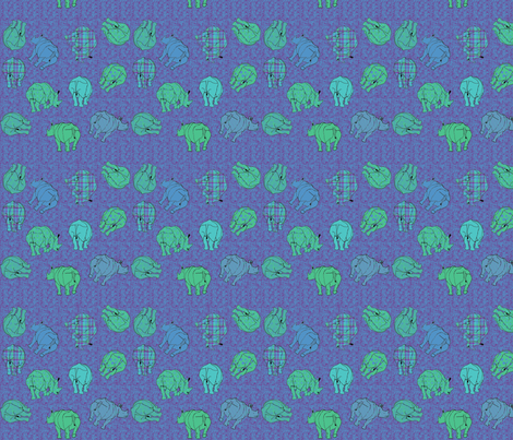 rhinocertoss fabric by mophead on Spoonflower - custom fabric