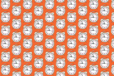 Right On Time fabric by alicehamptondickerson on Spoonflower - custom fabric