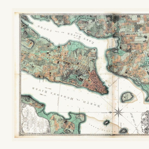 Roostery_Larger_Border_NYC_Vintage_Map_Tea_Towel_