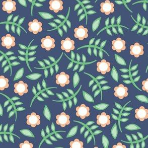 floral print dark