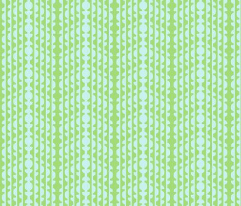 Topiary Stripe   -Serenity Palette v1 fabric by fireflower on Spoonflower - custom fabric