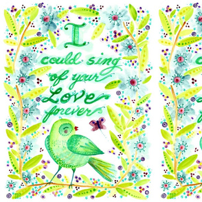 sing of love