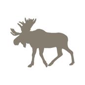 Multi Moose // Blue/Brown/Grey