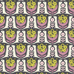 (Small Scale) 13 Lined Ground Squirrels in Lilac