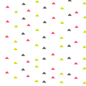 tiny triangles - pink green gray