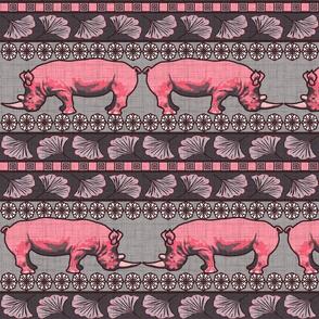 Algernon the rhino