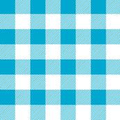 gingham - blue