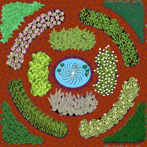 My_Dream_Herb_Garden fabric by house_of_heasman on Spoonflower - custom fabric