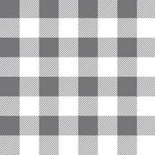 gingham - gray