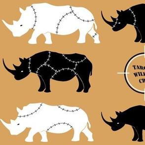 Don't stuff the rhinos!