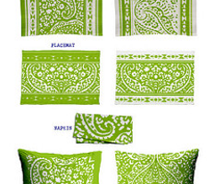 IKAT_CACHEMIRE_runner_135x45_APPLE_GREEN