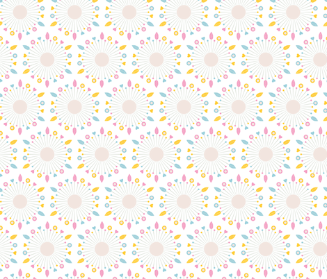 Sewing Pins (White) fabric by marcelinesmith on Spoonflower - custom fabric