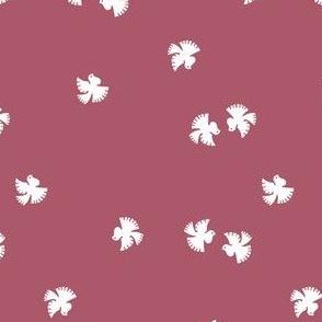 Little doves - 1940s fabric